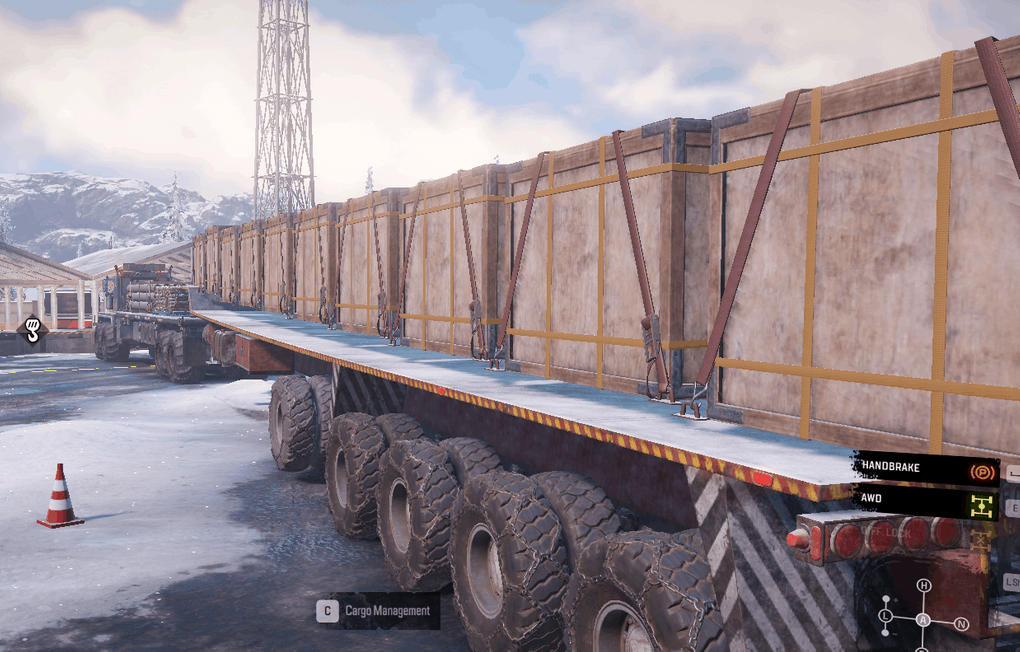 SnowRunner - PTS Only 10 Slot Semitrailer