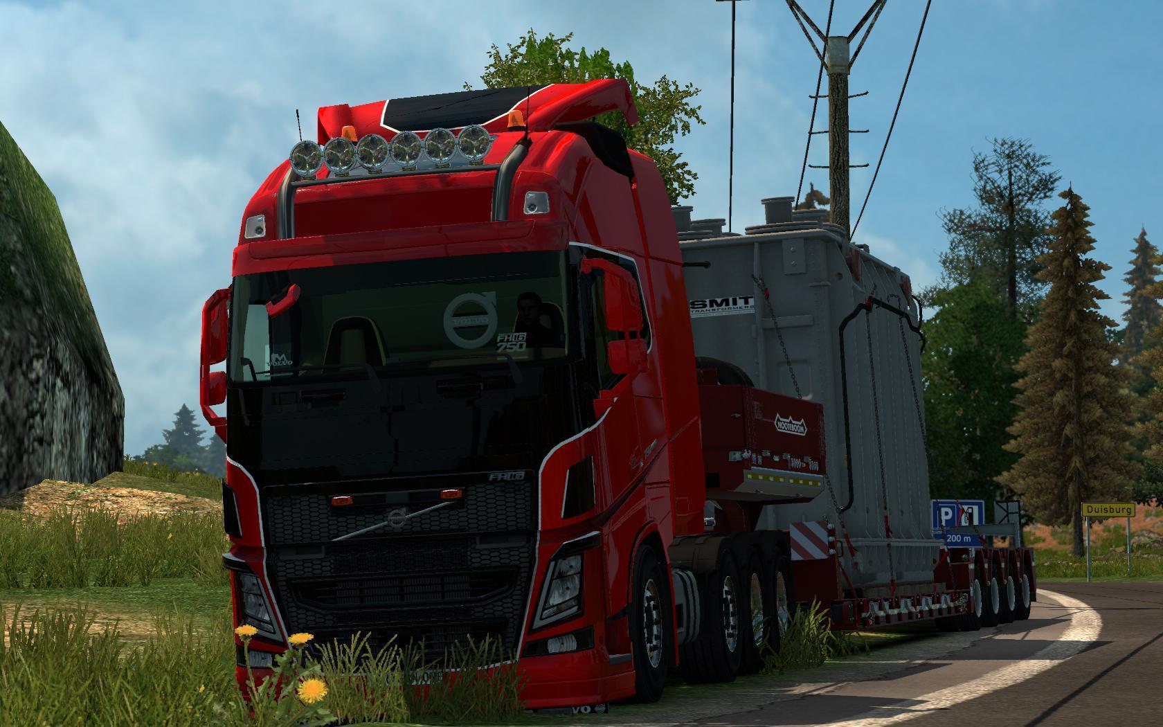 ETS2 - Volvo FH 2012 Edited (1.37.x)