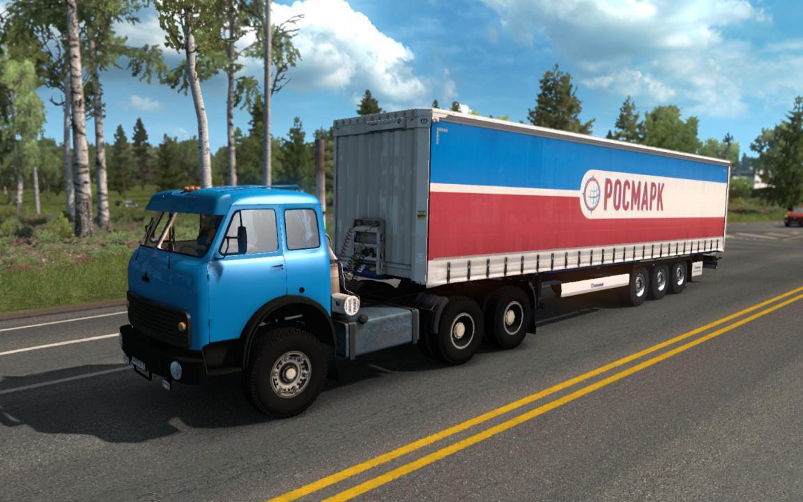 ETS2 - Maz 504b / 515b Truck (1.35.x)