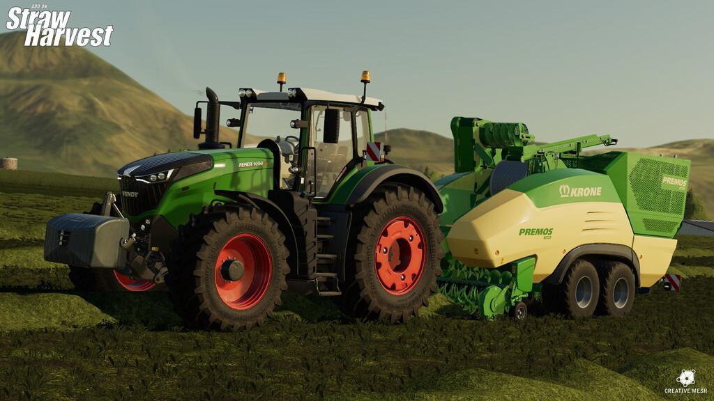FS19 - Addon Straw Harvest V1.1
