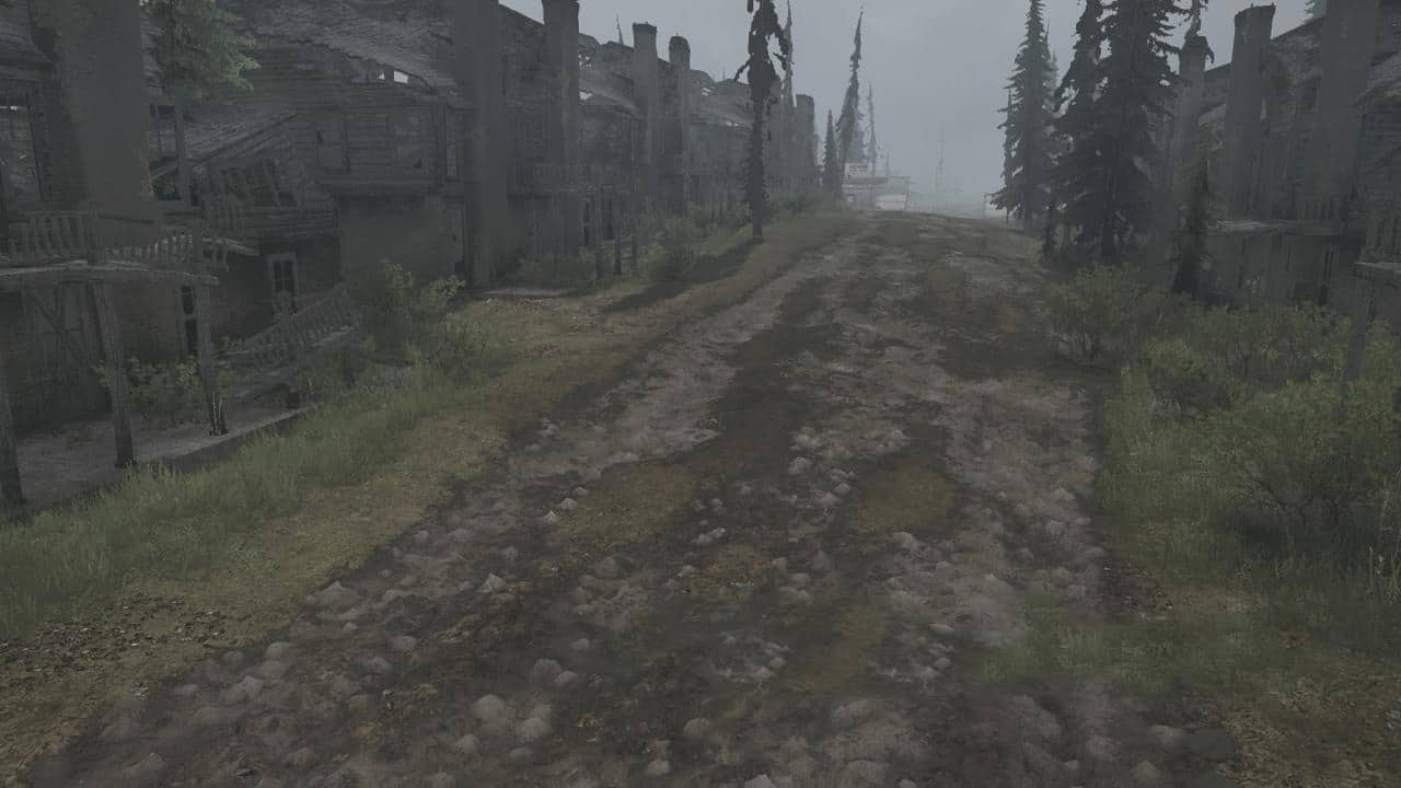 Spintires:Mudrunner - On The Border of The States of Utah and Nevada Map
