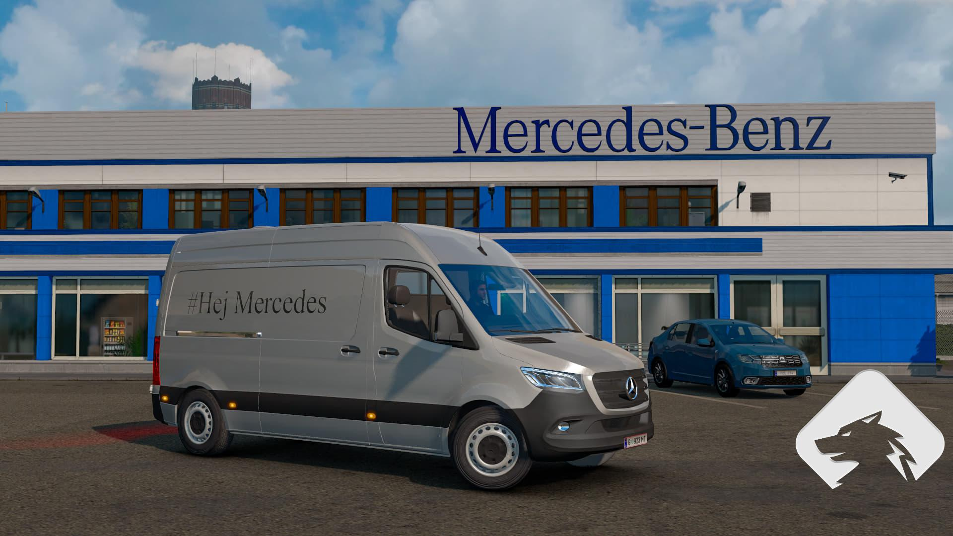 ETS2 - Mercedes Sprinter 2019 Beta V0.1 (1.36.x)