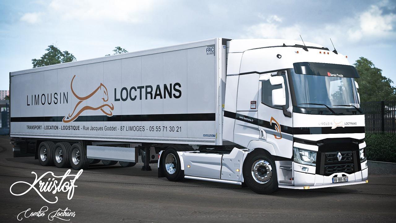 ETS2 - Loctrans Combo Skin (1.36.x)