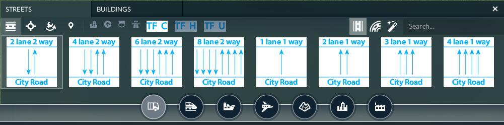 Transport Fever 2 - Modular Roads