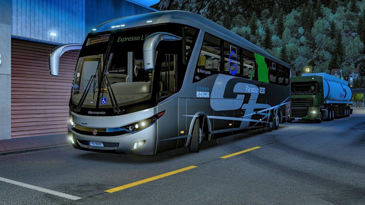 ETS2 - Volvo G7 Paradiso 1200 FC V1.8 (1.35 - 1.36)