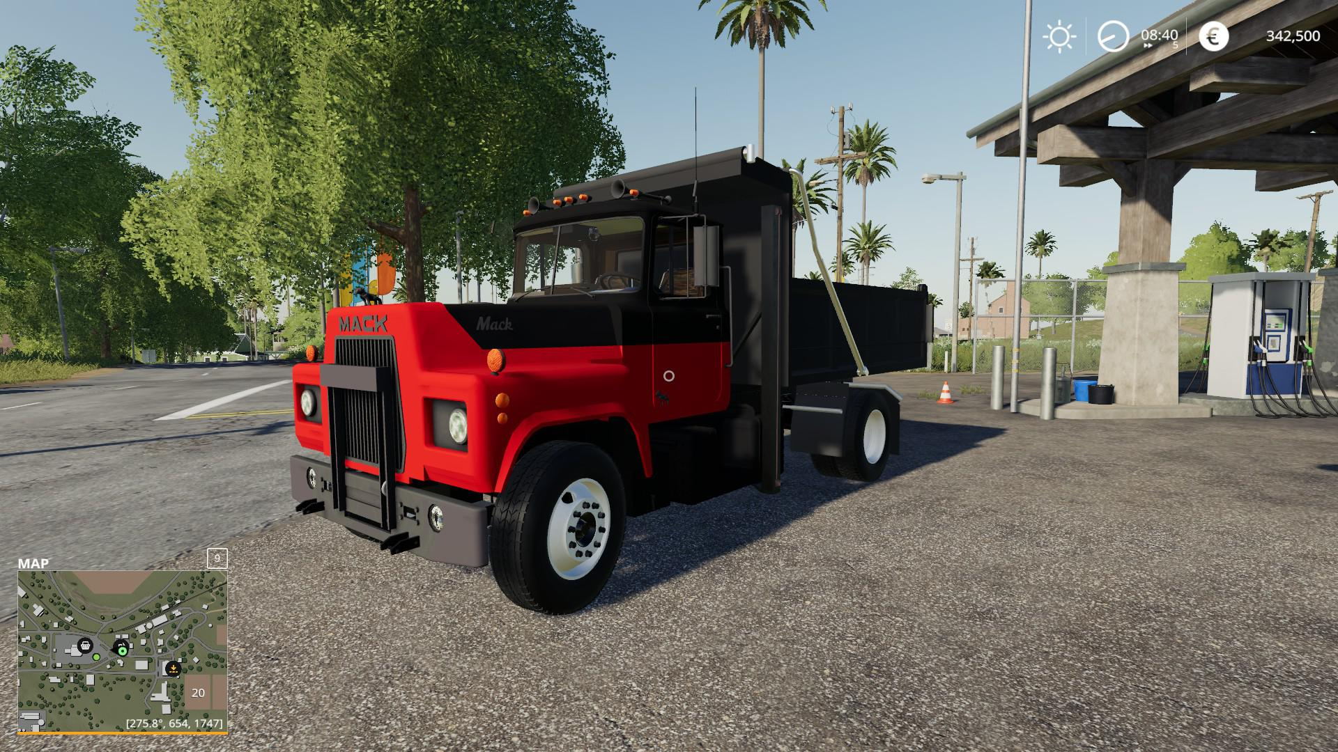 FS19 - Mack R Dump Truck V1.0