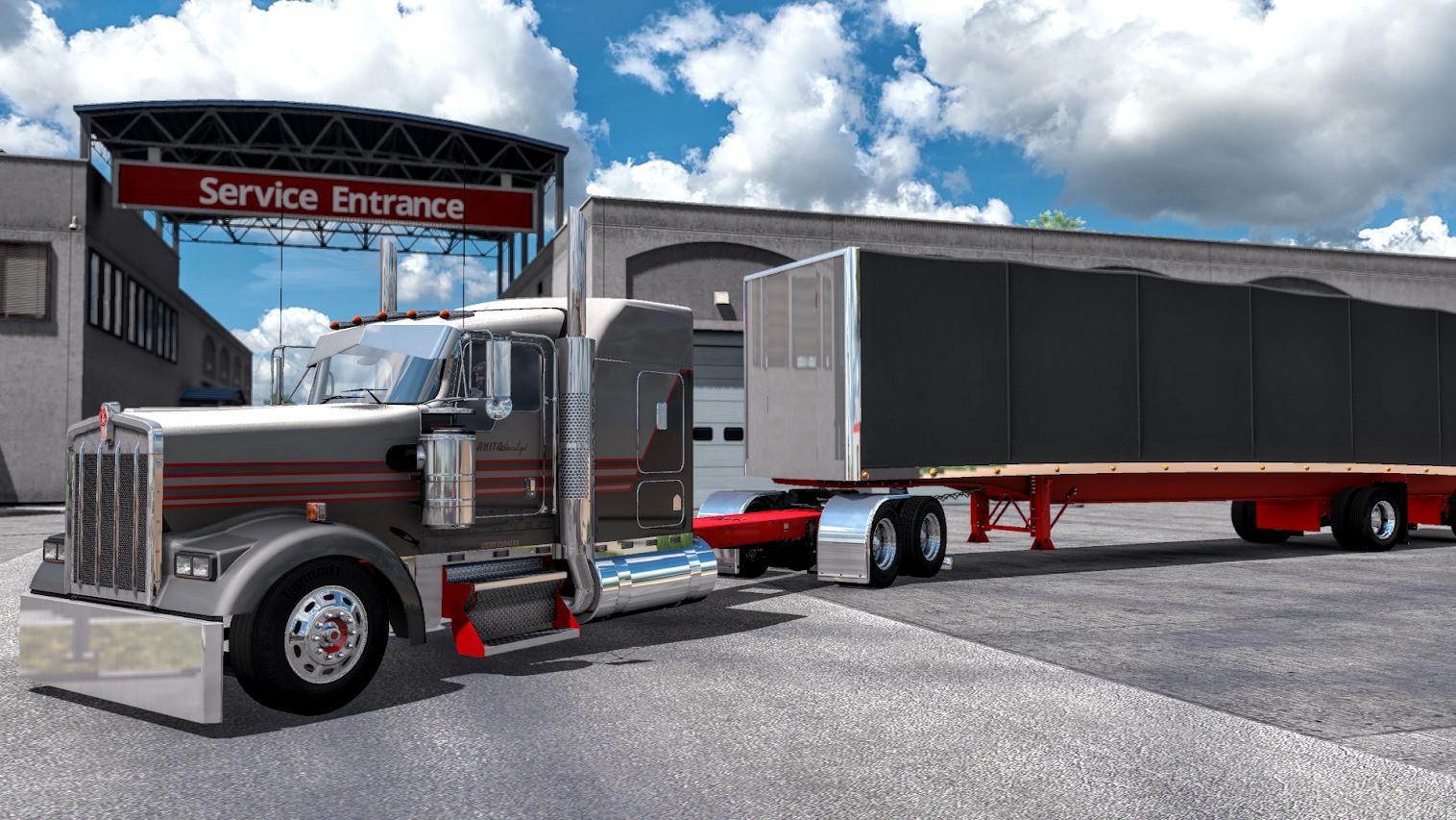 ATS - Kenworth W900 Pinga Truck (1.38.x)