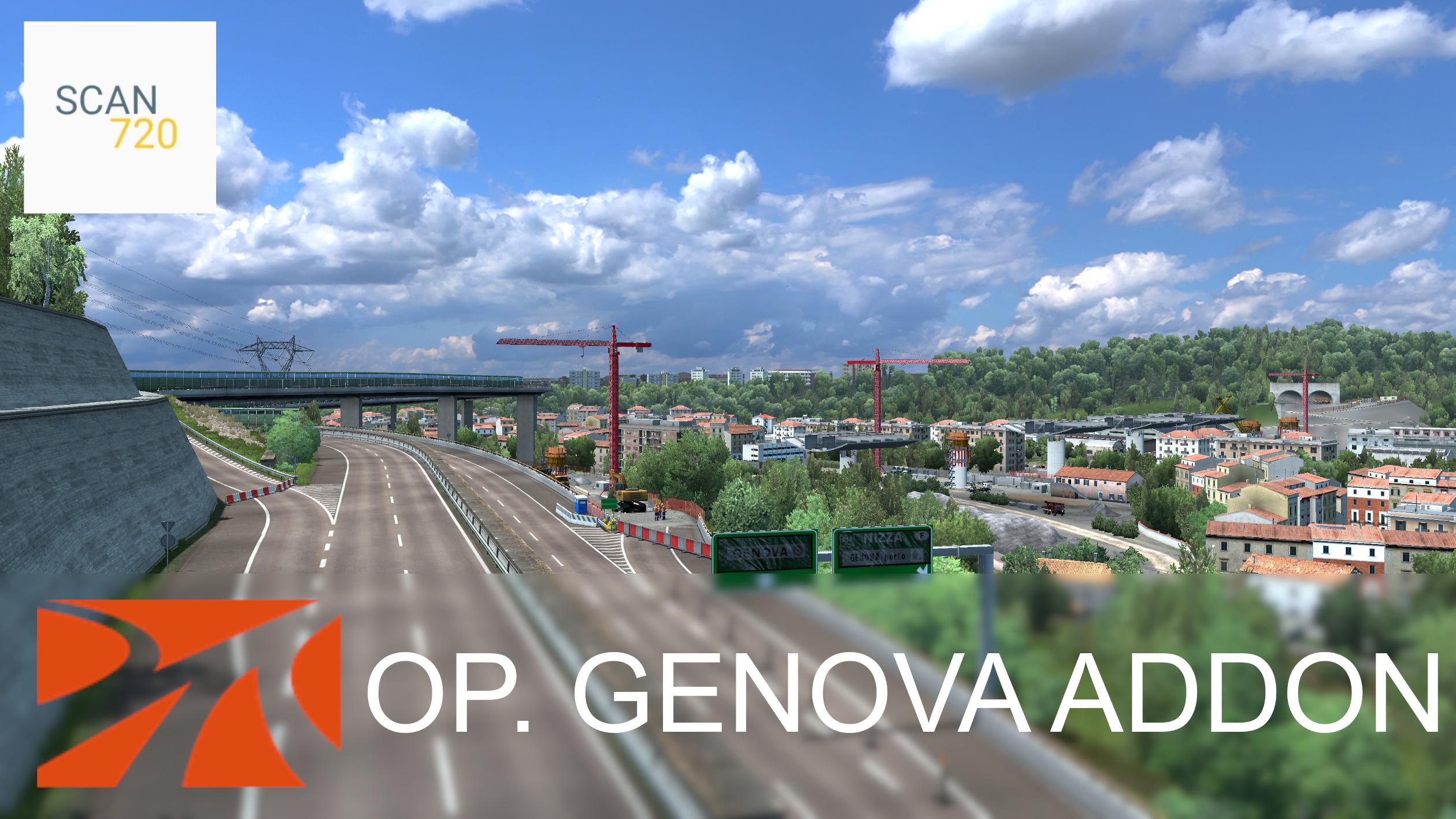 ETS2 - Operation Genova for ProMods Addon (1.37.x)