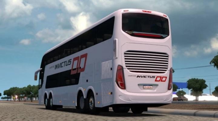ETS2 - Volvo Invictus DD 6x2 - 8x2 Bus Mod (1.40.x)