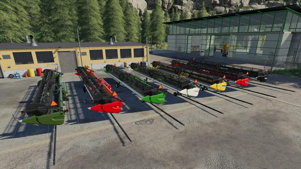 FS19 - Lizard Cutter Set V1.0