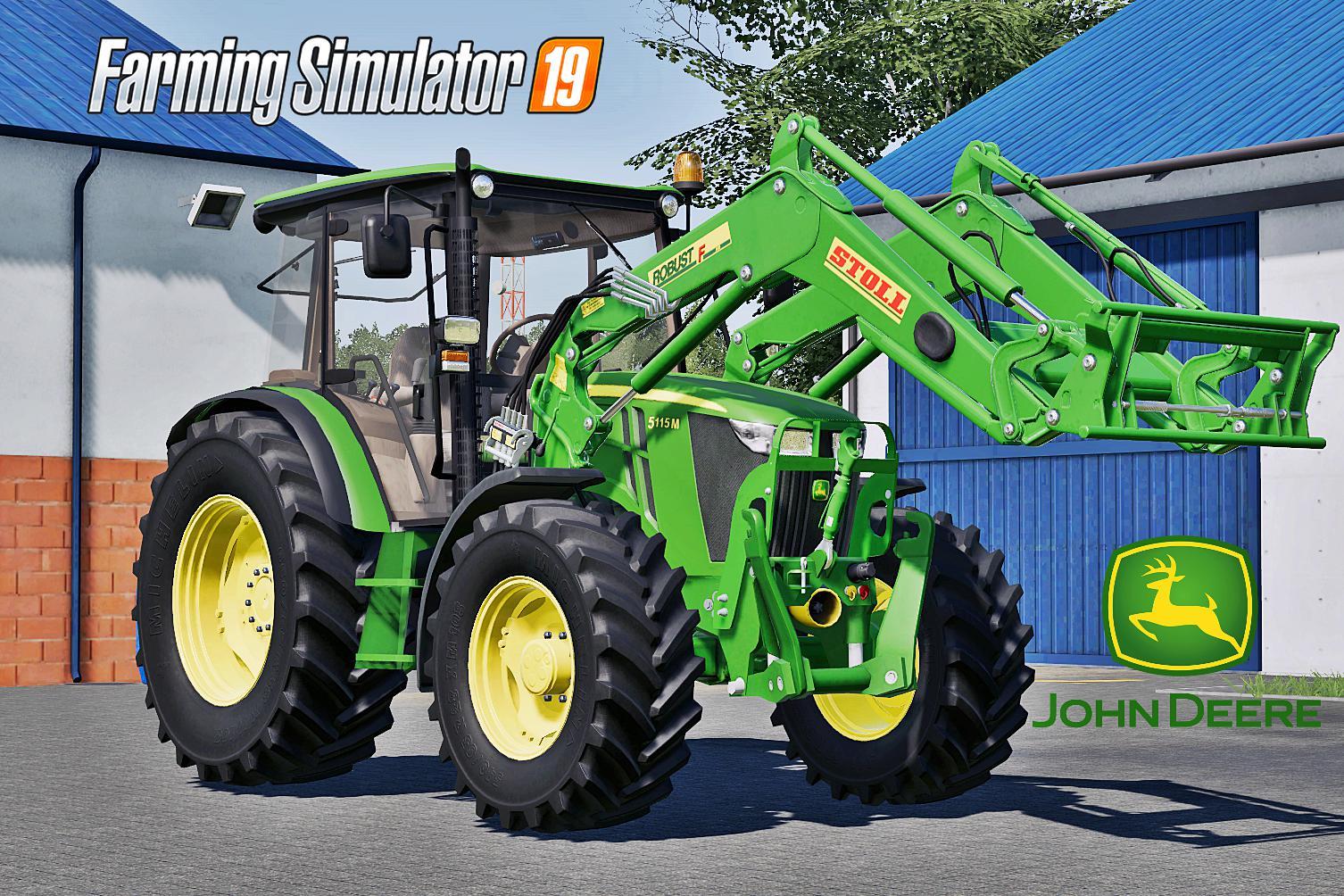 FS19 - John Deere 5M Serie V1.0