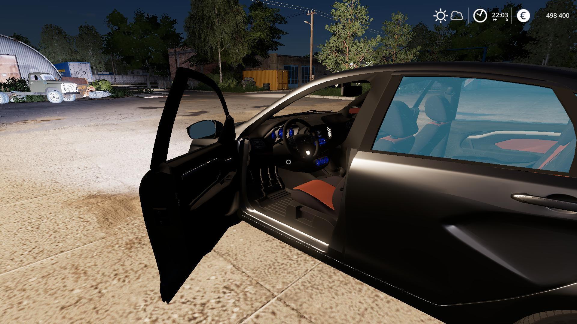 FS19 - Lada Vesta Car Mod V1.0