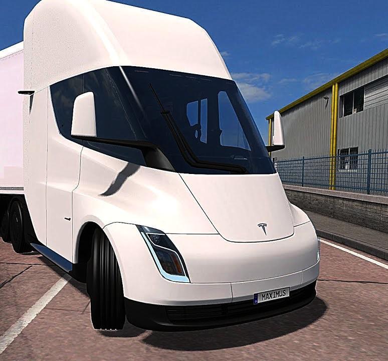 ETS2 - Tesla 2020 Truck (1.38.x)