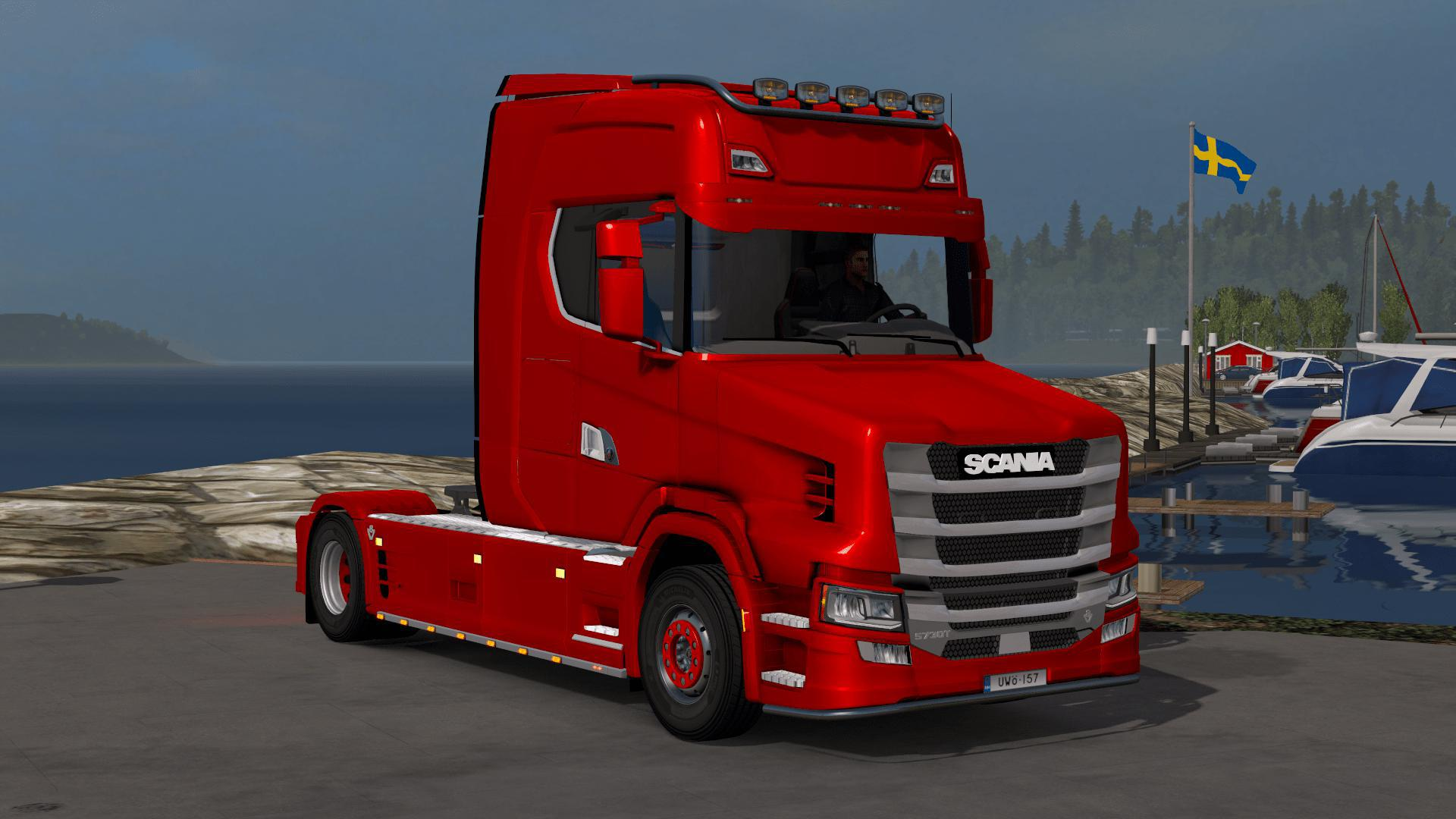 ETS2 - Scania S730 T Vlaustin V4.0 (1.38.x)