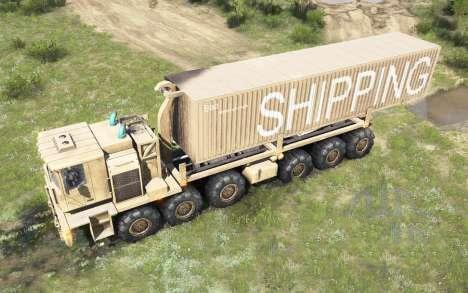 Spintires:Mudrunner - MZKT-79086 Truck V1.0